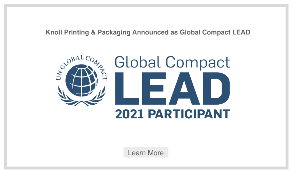 UN Global Connect - Knoll Printing & Packaging