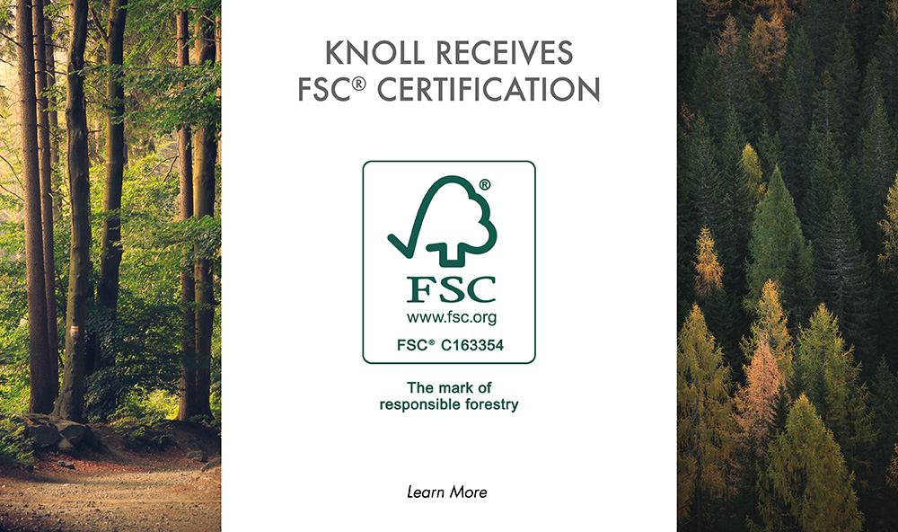 Knoll Printing & Packaging receives FSC Chain-of-Custody Certification