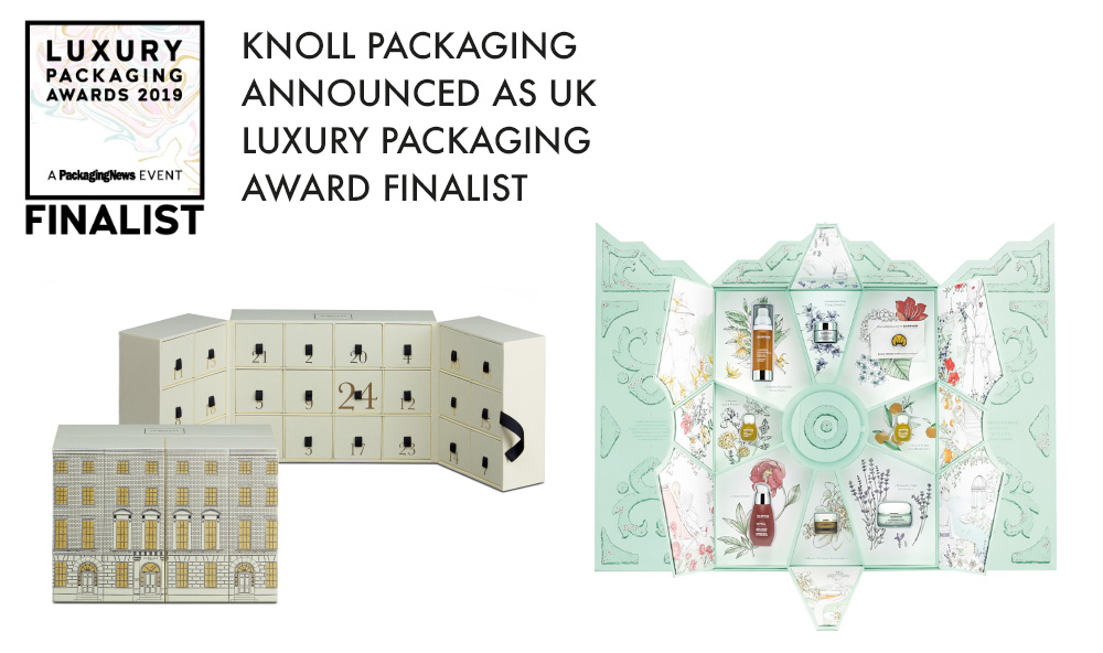 Knoll Packaging Announced as UK Luxury Packaging Awards Finalist